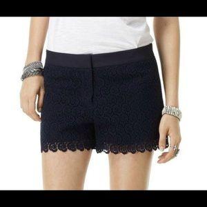 Club Monaco Diaz Lace Sophisticated Dress Shorts